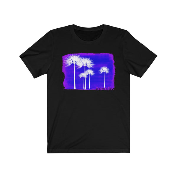Palms On Purple
