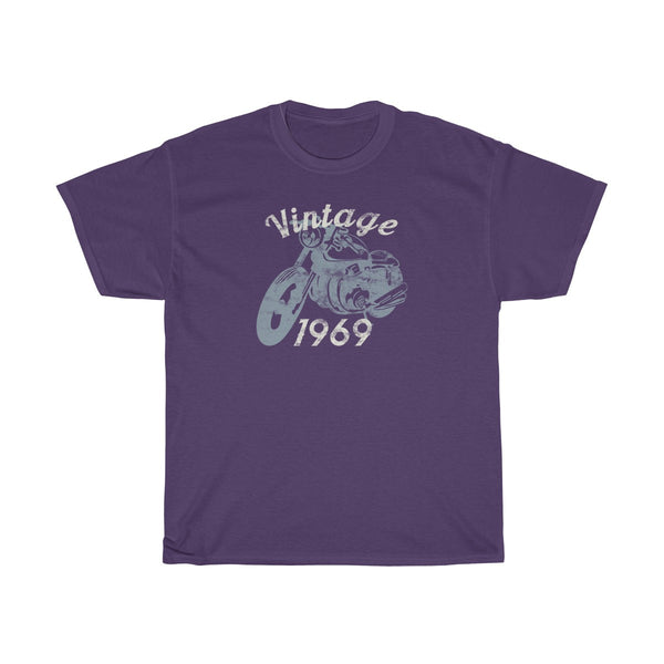 Vintage Motorcycle 1969 50th Birthday Shirt