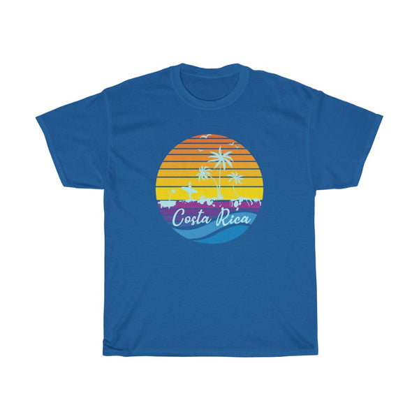 Costa Rica Vintage Sunset Surfer Souvenir