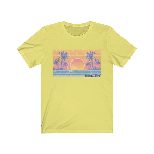 Vintage Tropical Sunset
