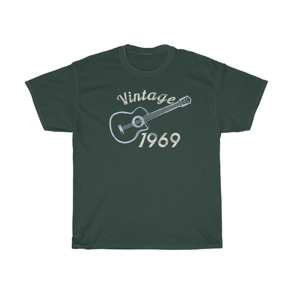 Vintage Guitar 1969 50th Birthday Shirt