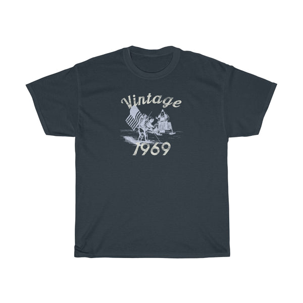 Vintage Moon Landing 1969 50th Birthday Shirt