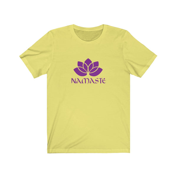 Lotus Flower Namaste Yoga Shirt