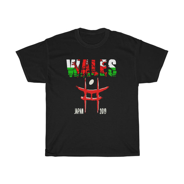Wales Rugby Japan 2019 T-Shirt