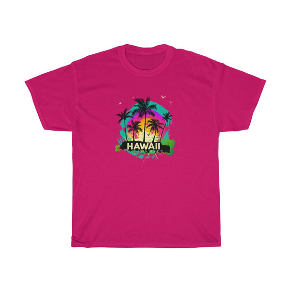 Hawaii Souvenir 80s Retro Sunset