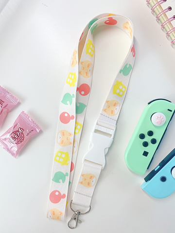 EBI'S ANIMAL CROSSING INSPIRED LANYARD