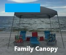 Z10'X10' Canopy Week Rental