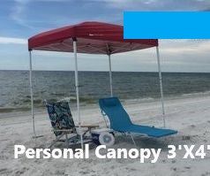 Z3'X4' Canopy Week Rental