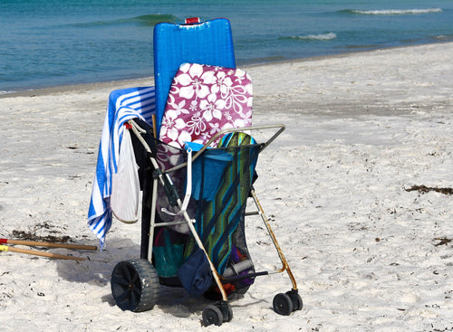 Light Beach Cart Week Rental