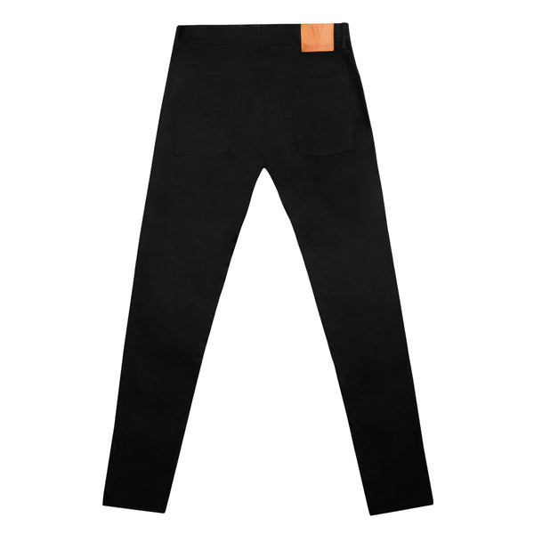SLIM COTTON LIGHTWEIGHT BLACK JEANS