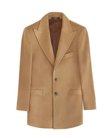 CAMEL CASHMERE BLEND COAT (SOLD OUT)
