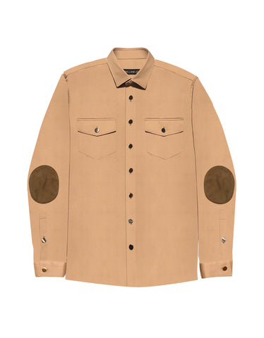 DESSERT COTTON TWILL OVERSHIRT