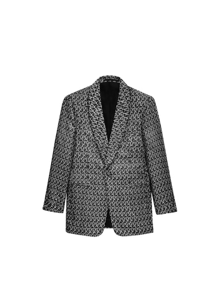 (SAMPLE SALE - 40US) JACQUARD THE ERA EVENING JACKET