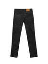 SLIM BLACK ANKLE JEANS