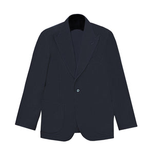 NAVY CASHMERE BLEND THE ERA JACKET