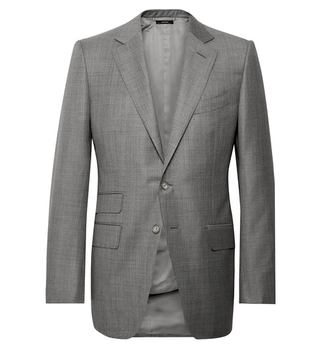 GREY WOOL GERACAO SUIT