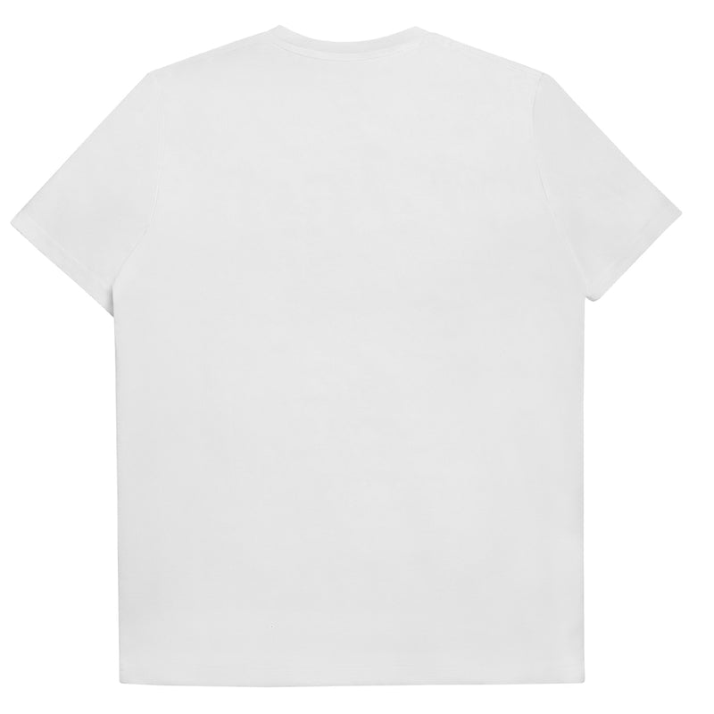 CREWNECK POCKET T-SHIRT - WHITE
