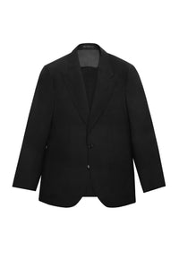 BLACK MOHAIR BLEND THE ERA JACKET