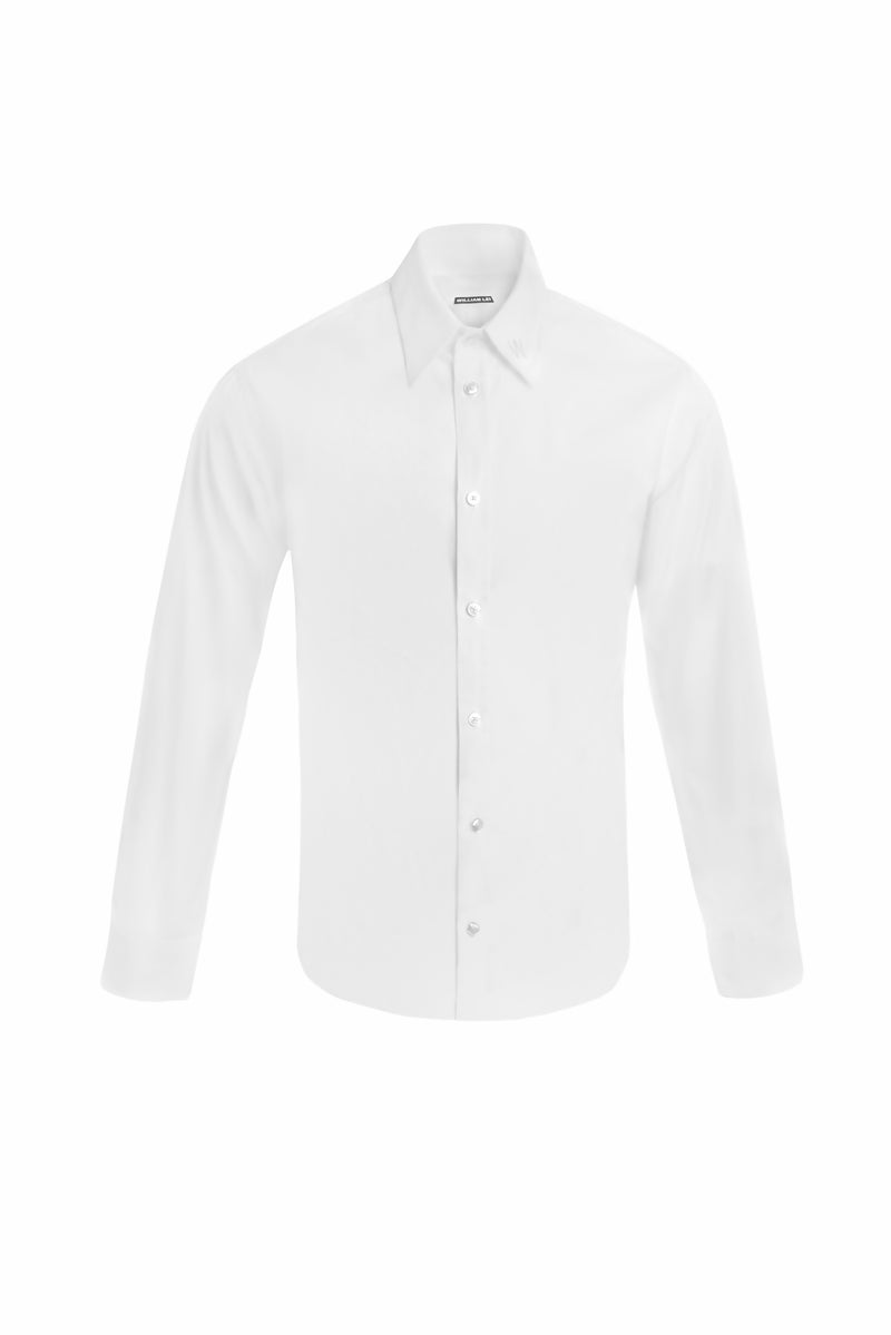 EMBROIDERY OXFORD SHIRT