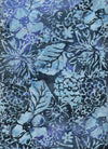 Anthology Batik Hibiscus and Leaves Blue