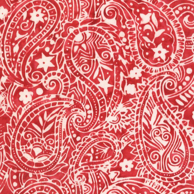 Anthology Batik Paisley Red