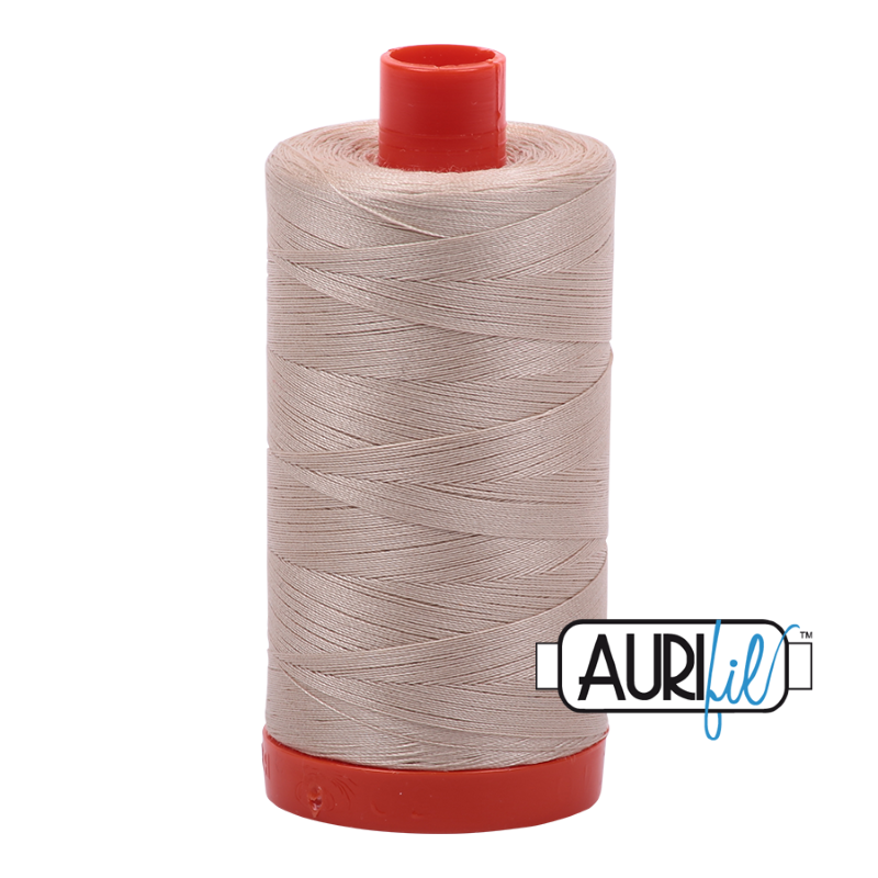 Aurifil Ermine 50 wt Cotton Thread 1422 yd Spool