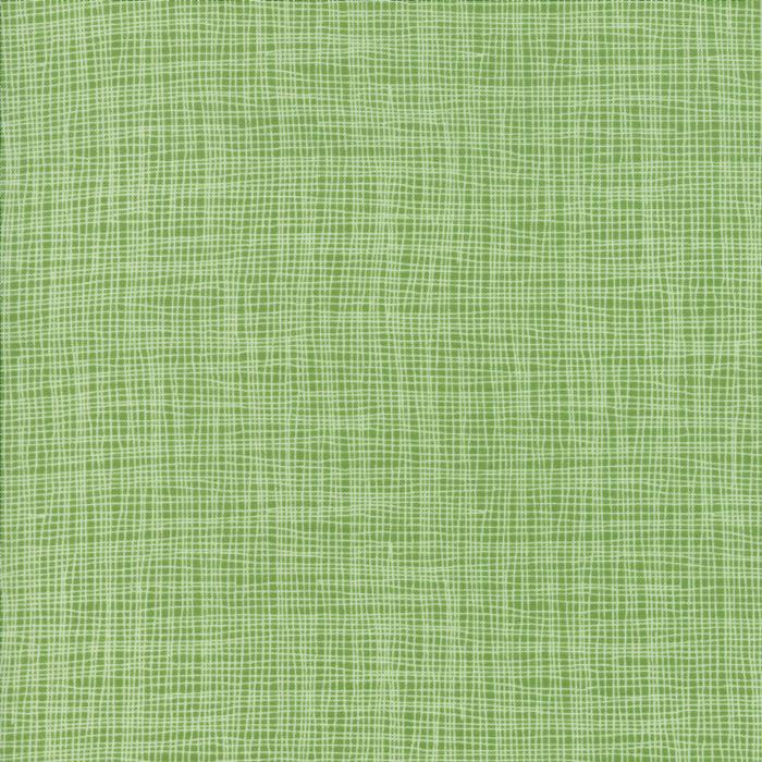 Day in Paris Green Woven Look