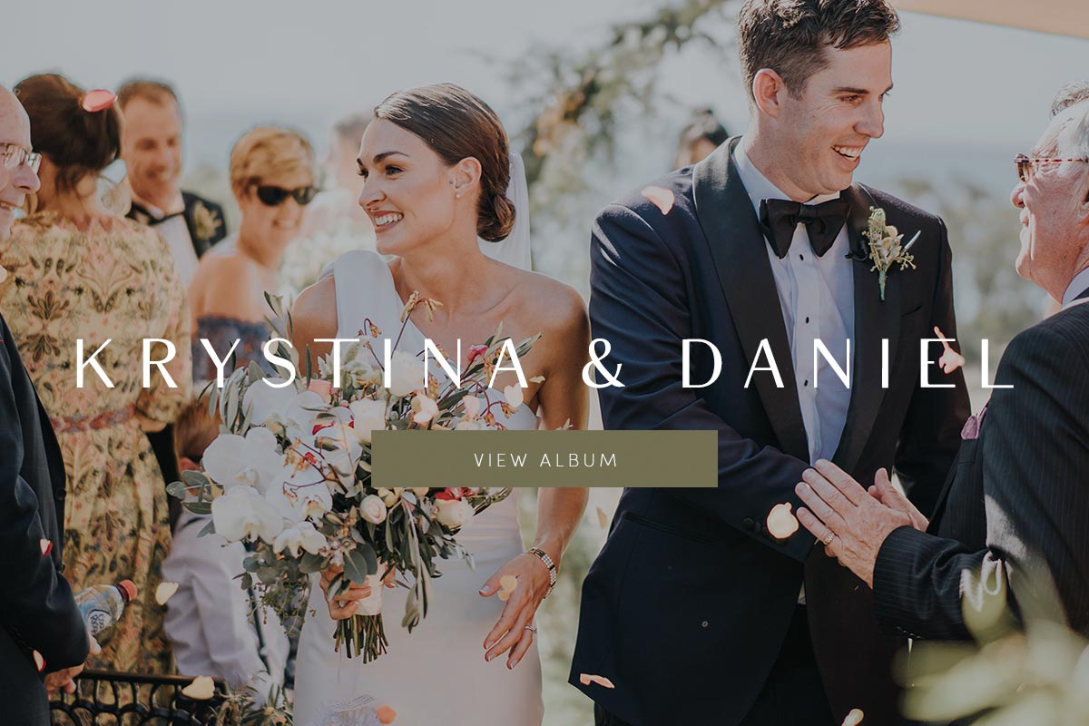 Krystina and Daniel | Beachside Blooms | Wedding
