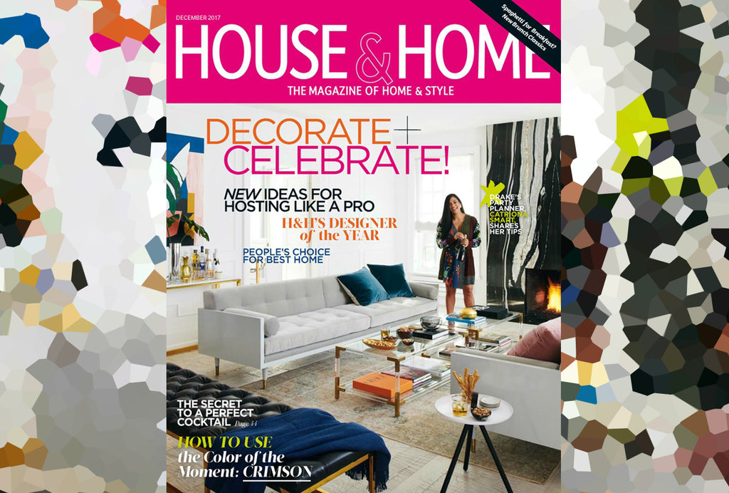 The Lovely Catriona Smart Has Been Featured On The Cover Of House U0026 Home  Magazine For Their December 2017 Issue! The Multi Page Feature Showcases  Catrionau0027s ...