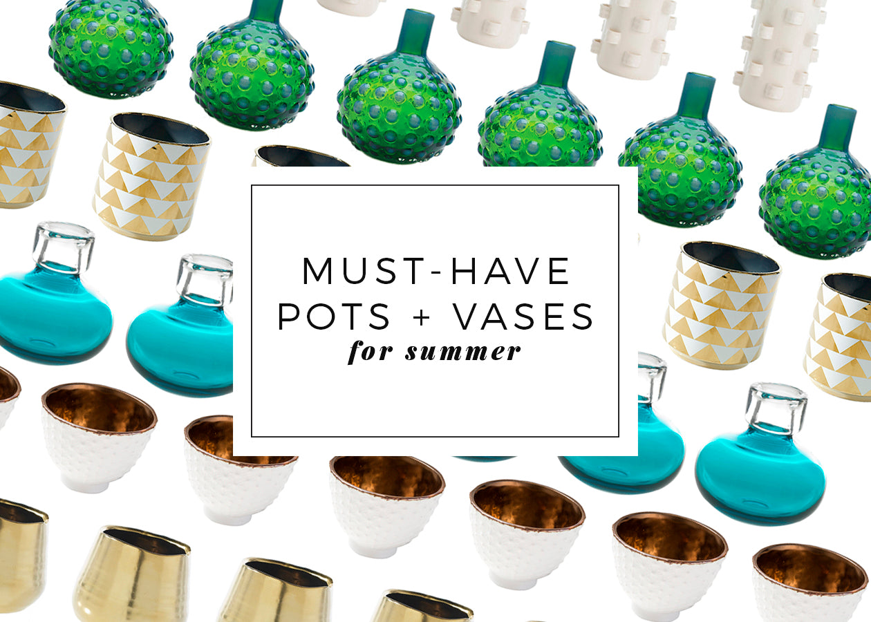 Black Rooster Decor - Must-Have Pots and Vases For Summer