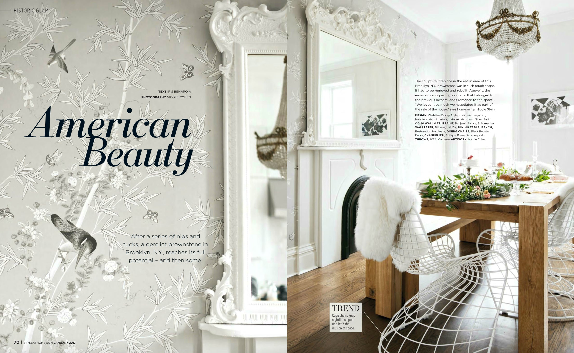 Style at Home January 2016 - Christine Dovey - Black Rooster Decor