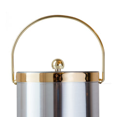 Silver and Gold Ice Bucket