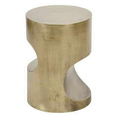 Chunk Cylinder Side Table