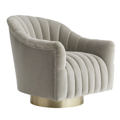 Champagne Swivel Chair