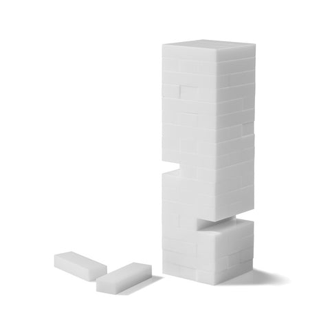 Blanc Stacking Tower Game