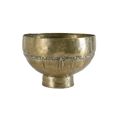 Brass Tall Bowl