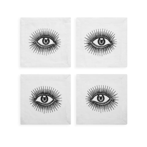 Eyes Cocktail Napkins