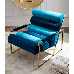 Rialto Channelled Goldfinger Lounge Chair