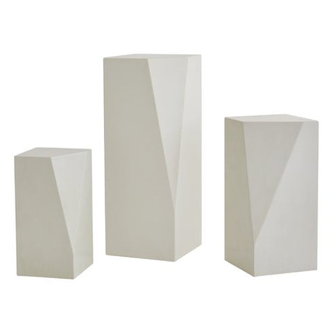 Geo Block Pedestal Collection