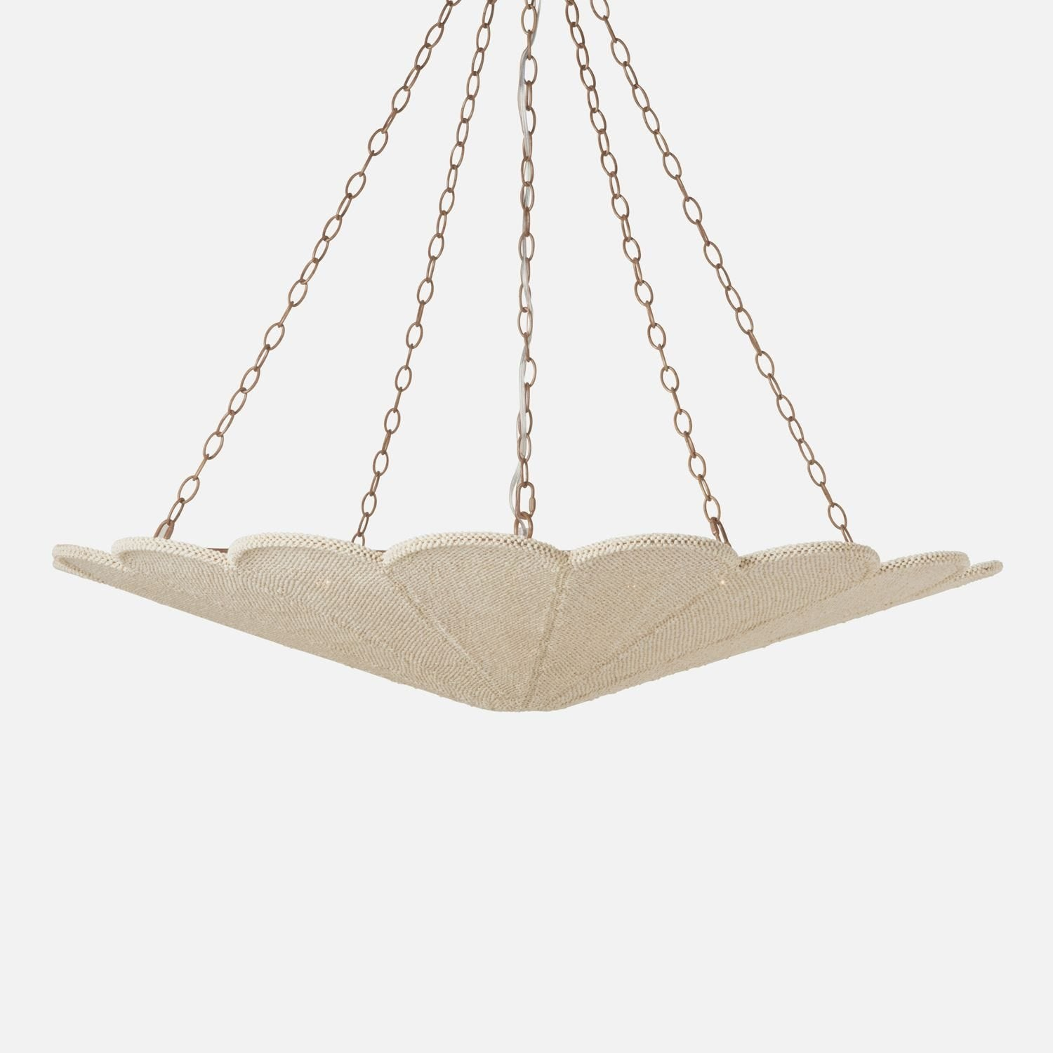 Glass Starburst Chandelier