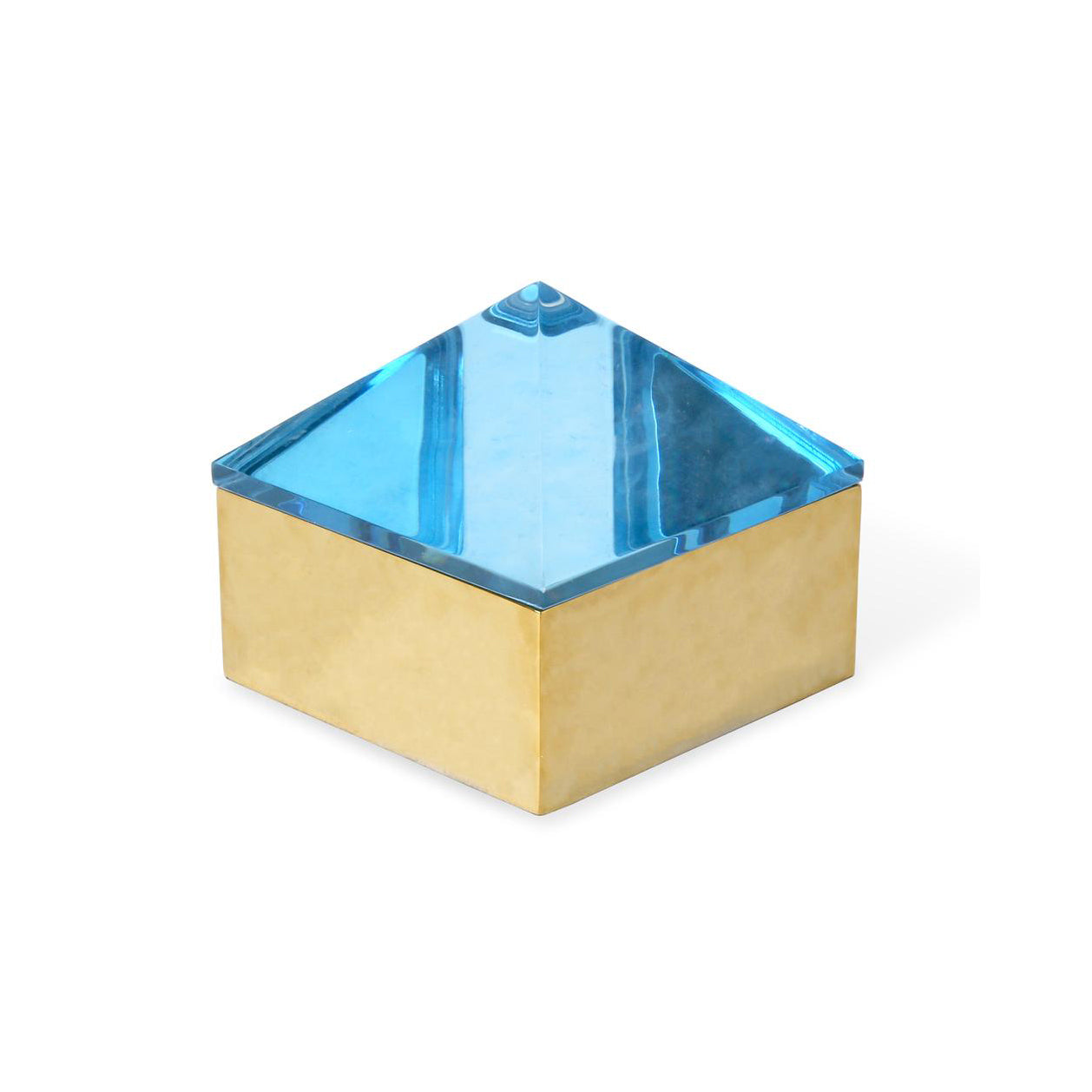 Medium Blue Monte Carlo Stud Box