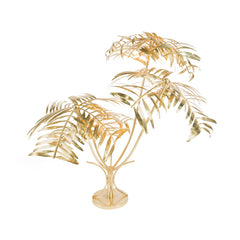 Brass Palms Floor Lamp
