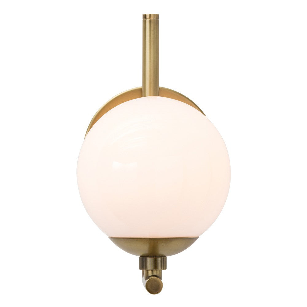 Single Brass Sconce