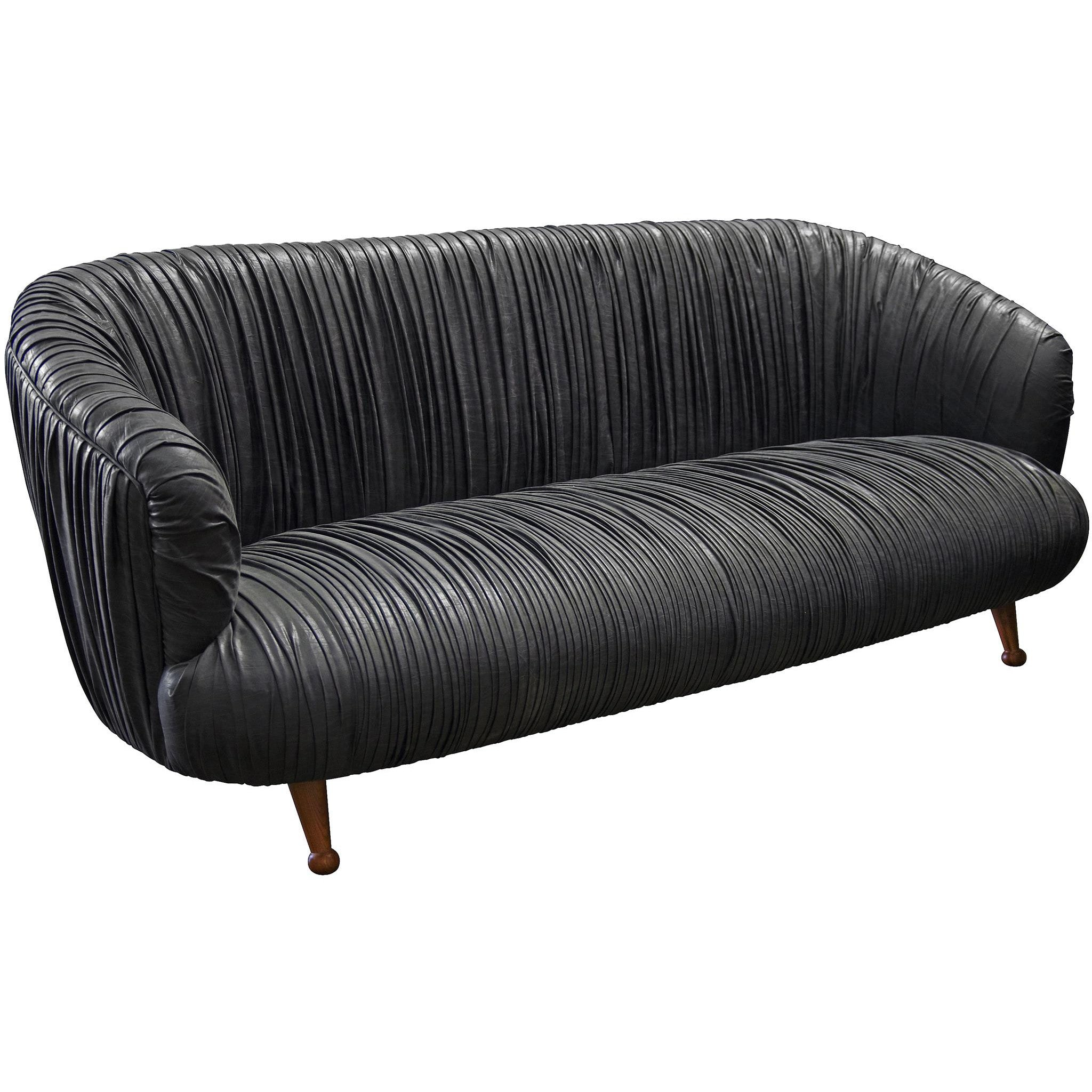 Black Glove Sofa - Black Rooster Decor