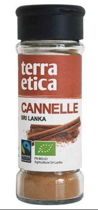 Terra Etica - Cannelle moulue -  Equitable et Bio (40g)
