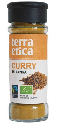 Terra Etica - Curry Sri Lanka -  Equitable et Bio (40g)