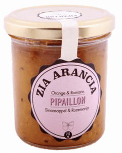 Pipaillon - Confiture orange et Romarin Bio (212ml)