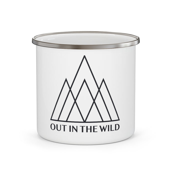Mountain Crown Enamel Camping Mug