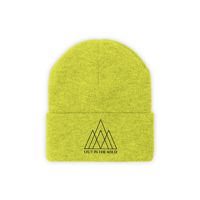 Mountain Crown Knit Beanie