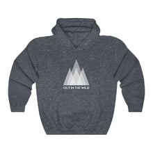 Load image into Gallery viewer, Out in the Wild Mountains Hooded Sweatshirt